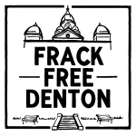 New Frack Free Denton Sticker